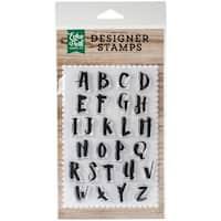 "Echo Park Stamps 4""X6""-Harper-Alphabet"