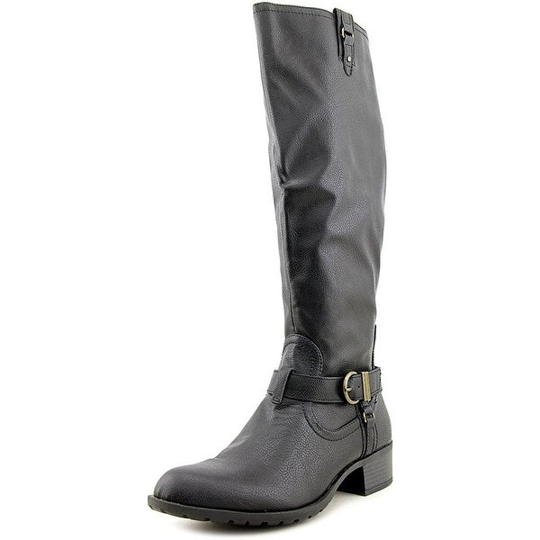 Rampage Womens Intense Almond Toe Knee High Fashion Boots