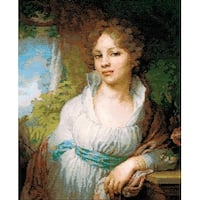 """Portrait Of M.I. Lopukhina Counted Cross Stitch Kit-11.75""""X15"""" 14 Count"""