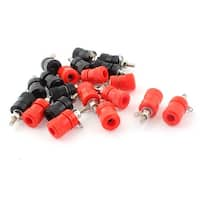 10 Pairs Plastic Cover Speaker 4mm Banana Plug Binding Post Terminal Connector