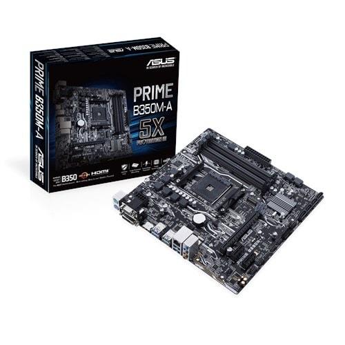 Asus - Motherboards - Prime B350m-A/Csm
