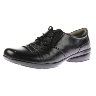 Naturalizer Womens Carly Leather Derby Oxfords