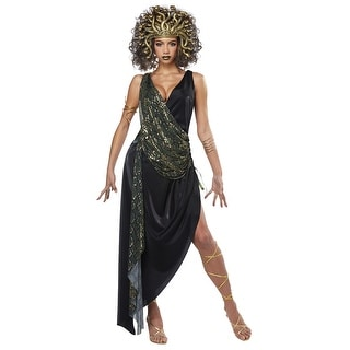 Womens Sedusa Greek Mythology Costume