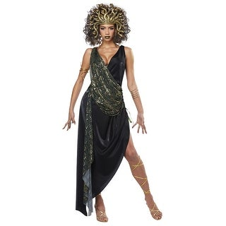 Womens Sedusa Greek Mythology Costume