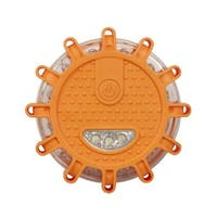 Wagan Tech WGN2639O Wagan EL2639 FRED Flashing Roadside Emergency Disc LED Flare