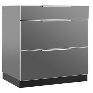 NewAge Products OK 32 Inch W x 23 Inch D 3-Drawer Cabinet