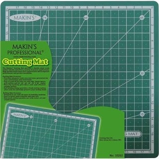 Makins USA M35202 7.87 x 7.87 in. Clay Cutting Mat - Small