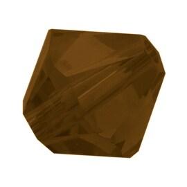 Swarovski Crystal, 5328 Bicone Beads 4mm, 24 Pieces, Mocca