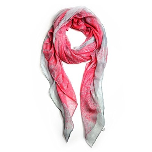 Women's Lightweight Paisley Printed Soft Large Wrap Scarves