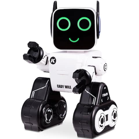 Costway K3 RC Robot Programmable Touch & Sound Control Piggy Bank Sing