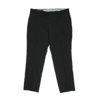 Kenneth Cole New York Mens Dress Pants Wool Flat Front