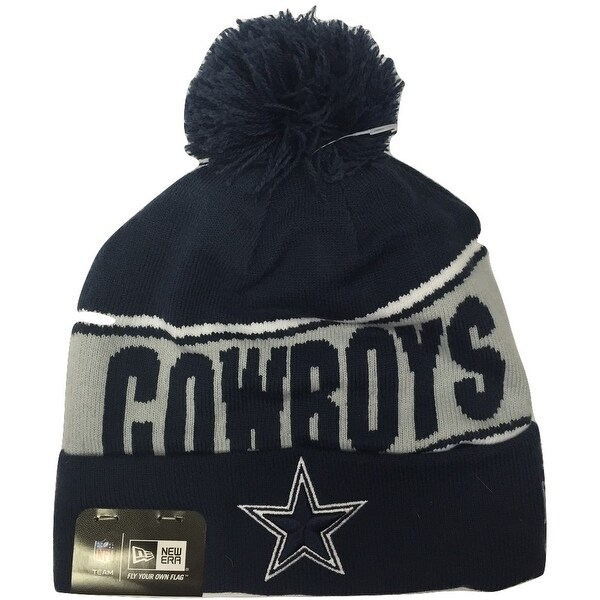 Dallas Cowboys Team Chant Knit Hat