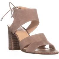 Franco Sarto Gem Ankle Tie Sandals, Sandstone