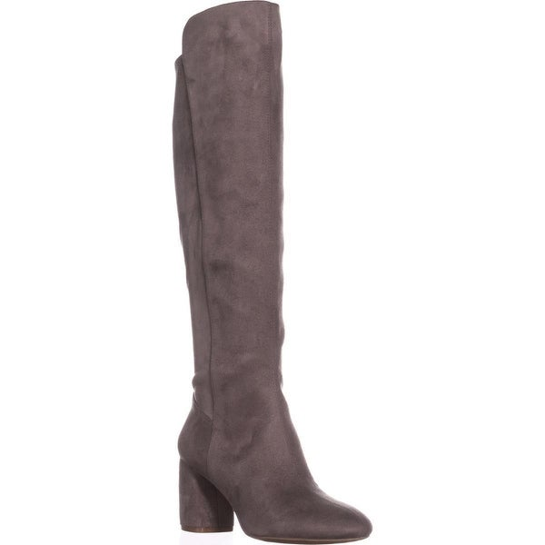 Nine West Kerianna Knee High Pull-On Boots, Grey