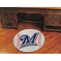 MLB - Milwaukee Brewers Baseball Mat
