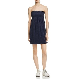 Juicy Couture Womens Sundress Microterry Strapless - S