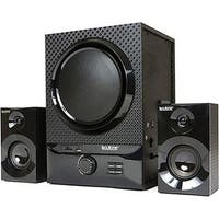 Multimedia Speaker System with Ultra Wireless Bluetooth - Black