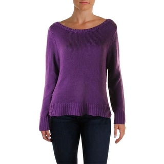 Lauren Ralph Lauren Womens Astra Pullover Sweater Long Sleeves Boatneck