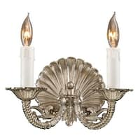 "Metropolitan N9805 2 Light 10.25"" Width Candle-Style Double Wall Sconce from the Metropolitan Collection"