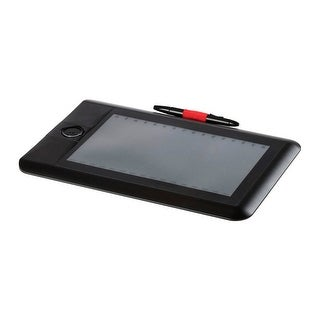 """(Open Box) Monoprice 10 x 6.25"""" MP Pro USB Graphic Tablet with Quick Select Wheel - 5400LPI - 2048 levels - 200RPS"""