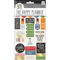 Create 365 Planner Stickers 5 Sheets/Pkg-Good Food