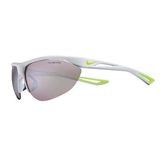 Nike Mens Tailwind Swift R Pure Platinum/Volt With Grey Silver Lens Sunglasses