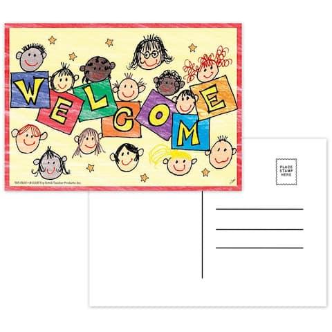 (12 Pk) Welcome Postcards 30 Per Pk