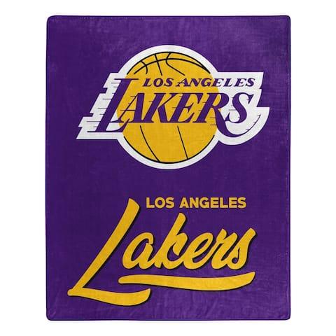 NBA 070 Lakers Signature Raschel