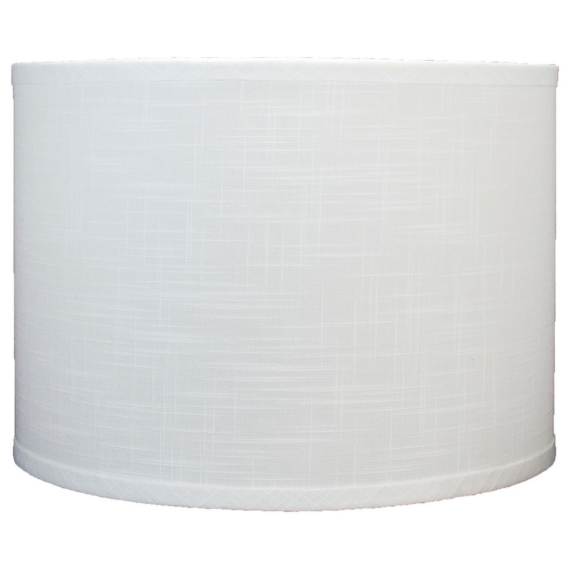 Classic Drum Linen Lamp Shade 8 To 16 Bottom Size Overstock 30786023