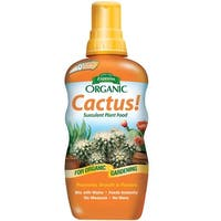 Espoma CAPF8 Organic Cactus! Indoor Liquid Plant Food, 8 Oz