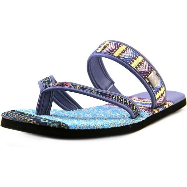 17fbe7f8c56972 OTBT Cokato Women Open Toe Canvas Multi Color Slides Sandal - Free ...