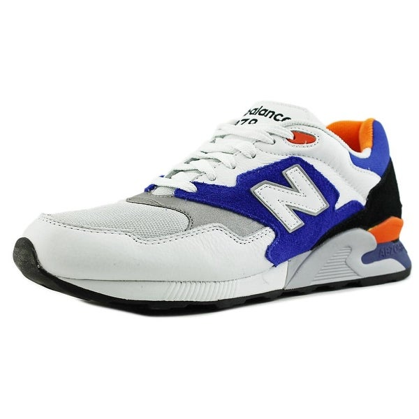 New Balance ML878 Men Round Toe Leather Multi Color Sneakers