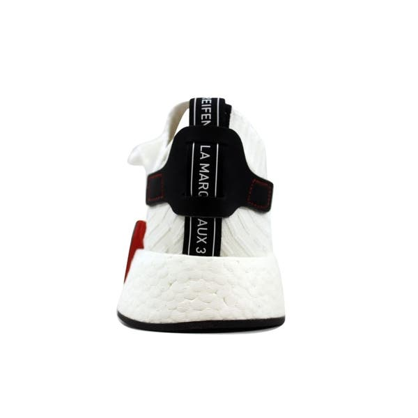 sports shoes 17c5e e5d69 Shop Adidas Men's NMD R2 Primeknit White/Black BY3015 - Free ...