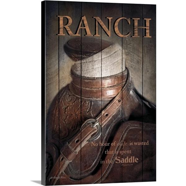 """Ranch"" Canvas Wall Art"