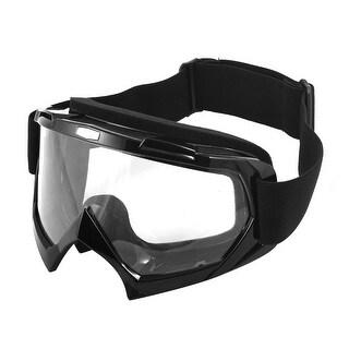 Clear Lens Outdoor Padded Glasses Anti Fog Ski Goggles Sunglasses
