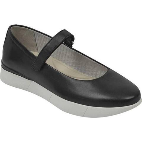 Easy Spirit Women's Cacia Mary Jane Black Leather