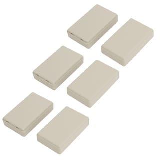 58mmx35mmx16mm Rectangular Dustproof IP65 ABS DIY Junction Box Case Gray 6pcs|https://ak1.ostkcdn.com/images/products/is/images/direct/3d78d491b6660e53c98c8eeb9e454d228db1523d/58mmx35mmx16mm-Rectangular-Dustproof-IP65-ABS-DIY-Junction-Box-Case-Gray-6pcs.jpg?impolicy=medium