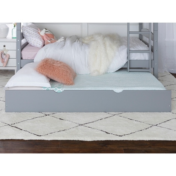 Taylor & Olive Christian Wood Roll-out Twin Trundle ONLY
