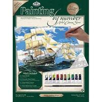 "Sailing Ships - Paint By Number Kit Artist Canvas Series 11""X14"""