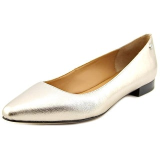 Calvin Klein Elle Women Square Toe Synthetic Flats