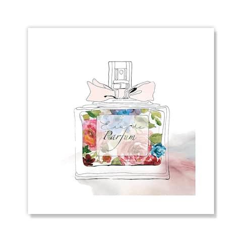 Chic Flower Perfume I - Pink