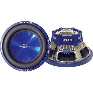"""Pyle Audio PL-BW84 Pyle Blue Wave PL-BW84 Woofer - 600 W PMPO - 1 Pack - 4 Ohm - 8"""" - Automobile"""