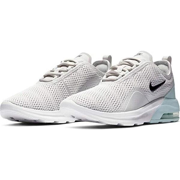 Nike Women's Air Max Motion 2 Running Shoe, Vast Grey/Black/Teal Tint, Size  8