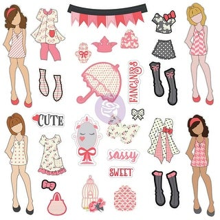 Julie Nutting Ephemera Cardstock Die-Cuts 31/Pkg-Dolls & Accessories