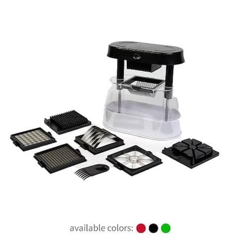 Ronco Veg-O-Matic Deluxe, Fruit and Vegetable Chopper, Dishwasher Safe