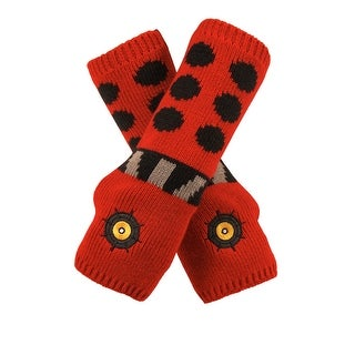 Doctor Who Dalek Adult Costume Arm Warmers One Size - Red