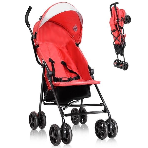Shop Costway Lightweight Umbrella Baby Stroller Toddler ...