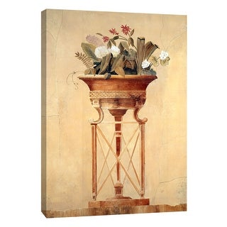 "PTM Images 9-105332  PTM Canvas Collection 10"" x 8"" - ""Floral Empire I"" Giclee Flowers Art Print on Canvas"