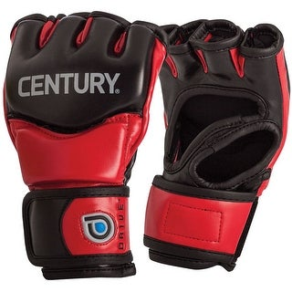 Century Youth Drive Thumbless Open Palm MMA Fight Gloves - Red/Black
