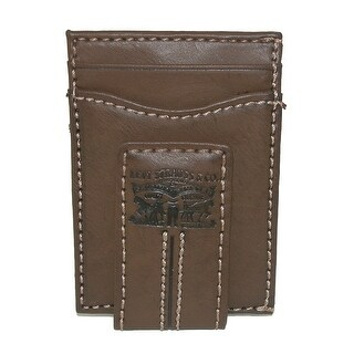 Levis Men's Magnetic Card Case Wallet with Money Clip - One size